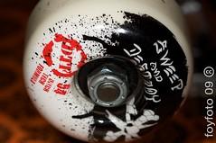 Bones Wheels (foyfoto) Tags: bones skateboard independenttrucks mt24ex 100mm28macro canon40d