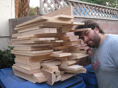 plywood scraps