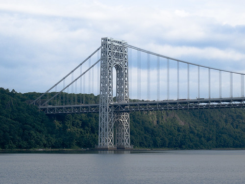 George Washington Bridge NJ side by you.