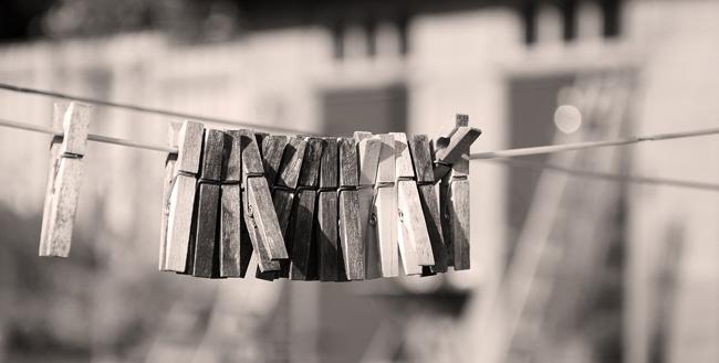 tvättlinan