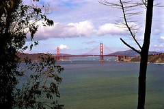 The Golden Gate Bridge from near the California Palace of the Legion of Honor (lhg_11, 2million views. Thank you!) Tags: sanfrancisco california nikon bridges goldengatebridge ggnpc11