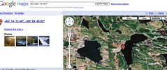 hike from cabin, across the lake! (lukebarker) Tags: kuusamo oulankajoki