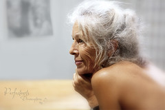 Our Art Class Life Model - Geraldine. (Ingrid Douglas Images - ART in Photography) Tags: lifedrawing artclasses artescape perfectoarts ingridinoz cairnsartsociety
