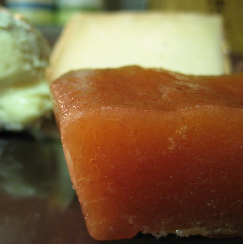 slice of quince paste