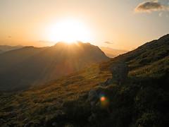 Sonnenaufgang am Watzmannhaus (WolfgangPichler) Tags: germany bayern deutschland bavaria berchtesgaden hiking wandern knigsee watzmann watzmannhaus wimbach