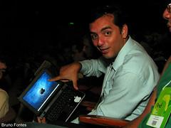 @cristianoweb mostrando seu Ipositivo (Bruno Fontes) Tags: digital de design forum internacional e palestra 2009 find tecnologia arteccom