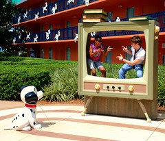What's on T.V. tonight? (skittleydoo04) Tags: family vacation dogs fun orlando florida disney resort waltdisneyworld ih dalmations 101dalmations allstarmovieresort skittleydoo04