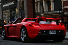 Porsche Carrera GT. (Tom Daem) Tags: london porsche gt carrera arabs
