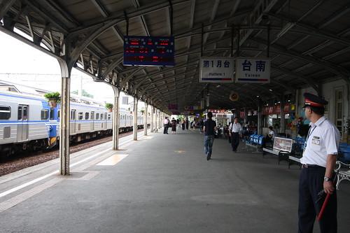 台鉄・台南駅
