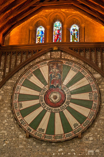 King Arthur's Round Table, Winchester Royal Palace, Hampshire