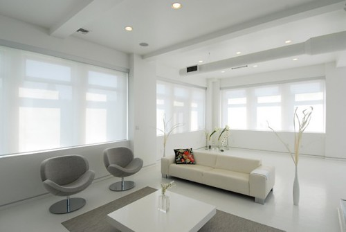 Modern Minimalist Interior Design of Apartment
