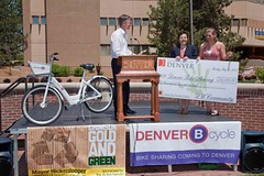 IMG_2772 (DU Internal Photos) Tags: people students bike check published events volunteers governor greens historical donation speeches sustainability dignitaries chancellors advancement hickenlooper charities pressconferences otherkeywords