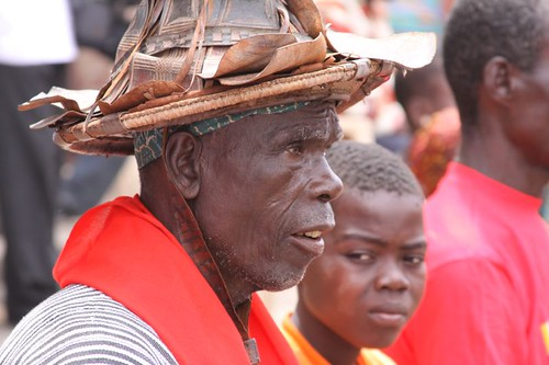 Elderly in Cape Coast.
