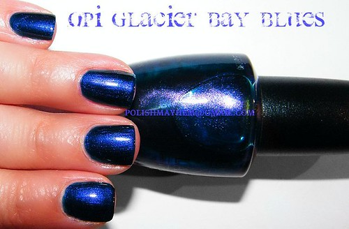 OPI Glacier Bay Blues