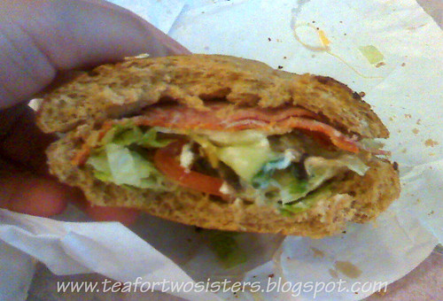 Spicy Italian on Honey Oat (Subway)