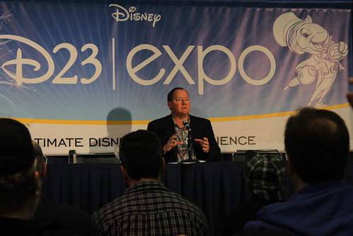 John Lasseter in D23 Expo by you.