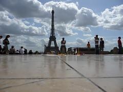 Torre Eiffel dal Trocadero (Zingaro. I am a gipsy too.) Tags: paris toureiffel trocadero