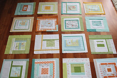 munki munki quilt blocks (filminthefridge) Tags: quilt quilting improv quiltblocks munkimunki heatherross
