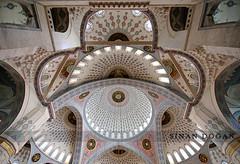 Simetri (Sinan Doan) Tags: architecture turkey trkiye symmetry trkei cami ankara kubbe symmetrie simetri  kocatepecamii  trkiy ankaracamileri