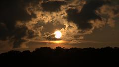 Sunset over eagle creek
