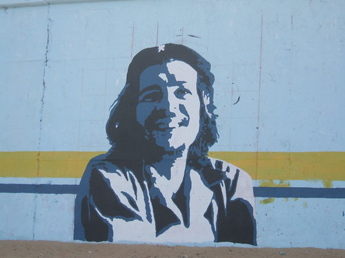 Mural of Che on Caribe Canalla