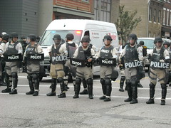 DSCN1656 (flyingmonkeyair) Tags: dog bike riot pittsburgh cops protest police summit anarchist obama protester lrad g20 ldad