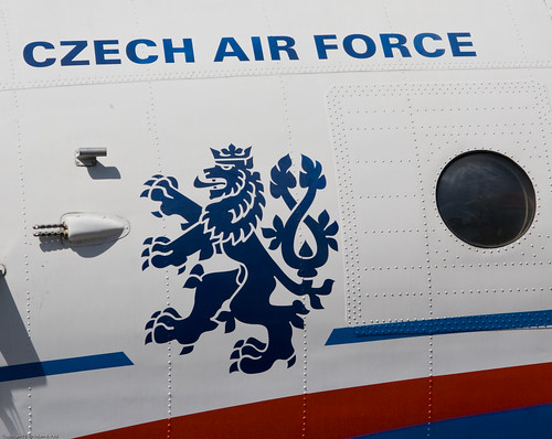 Czech Air Force insignia by you.