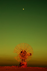 Out of the world! (radiant guy) Tags: moon green dish lunar omalaish أمالعيش