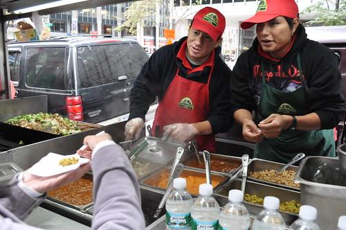 Healthy Vegetarian Oatmeal Food Cart Midtown NY