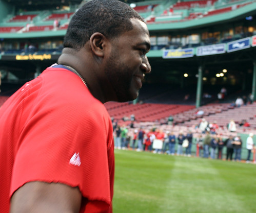 Big Papi's smile up close by you.