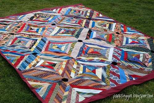 Antique String Quilt