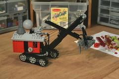 Steam Shovel (psiaki) Tags: lego steam shovel digger maryann excavation moc mikemulligan virginialeeburton