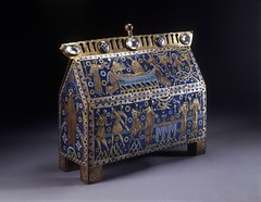 Becket Casket, around 1180. Museum no. M.66-1977