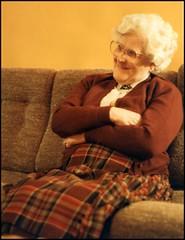 1986: Phyllis at Joe Knott's 78th birthday