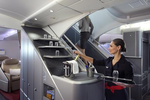 A bord de l'A380 Air France  (3)