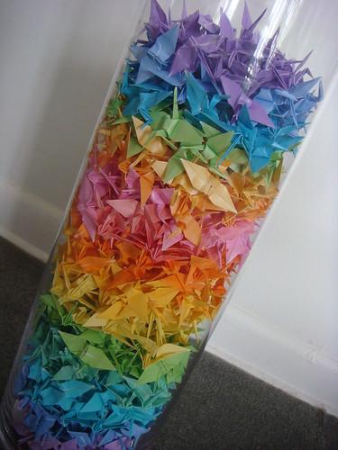 1000 paper cranes-done