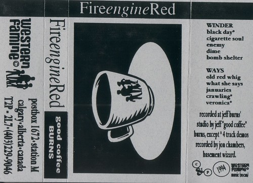 Fire Engine Red- Good Coffee Burns
