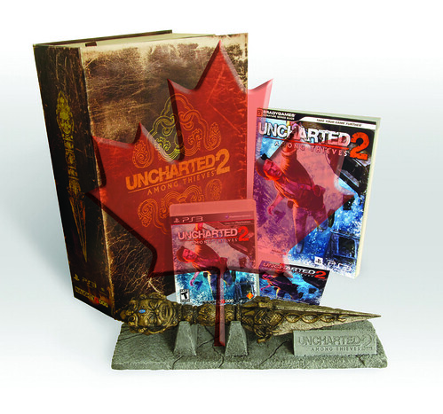 UNCHARTED 2: Among Thieves Fortune Hunter Edition Canada