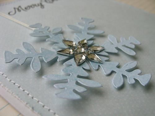 Christmas Snowflake - detail