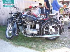 BMW R25/3 Sidecar (John Steam) Tags: classic vintage germany bayern fuji motorbike r bmw motorcycle oldtimer f11 sidecar 253 motorrad beiwagen mehring teisendorf seitenwagen r253