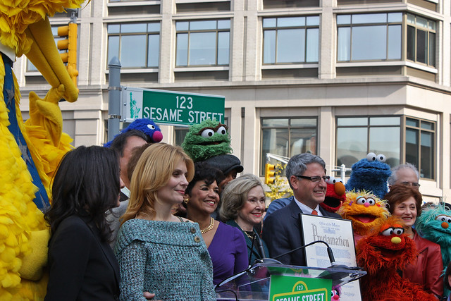 Sesame Street 40th Anniversary by MediaPost Communications