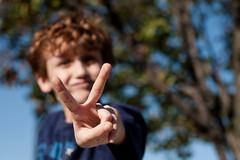 Peace Out! (~Kerry Murphy) Tags: peace boychild