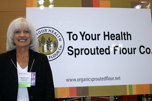 Peggy Sutton from To Your Health Sprouted Flour