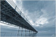 Southport Pier (Toned version) (digitalpoet1) Tags: pier toned southport hdr