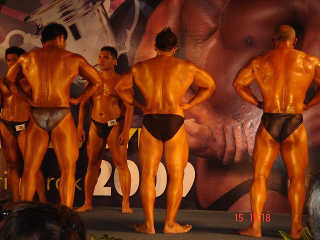Dedicated Personal Trainer, Brian Chong Bodybuilding Competition
