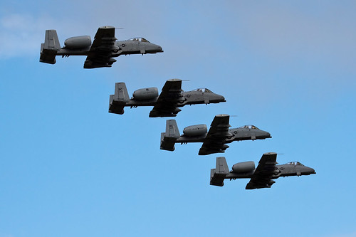 Airplane picture - fairchild A-10 Thunderbolt II -Selfridge_20090822_0047