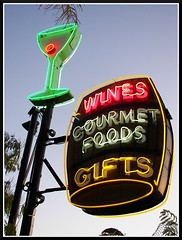 Neon Sign at Pea Soup Andersen's (Dusty_73) Tags: california santa travel usa sign america vintage soup neon valley signage roadside solvang pea buellton andersens ynez