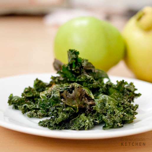 "Oven-Roasted Kale ""Chips"""