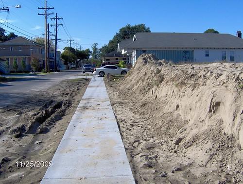 Joliet Street Road Cut