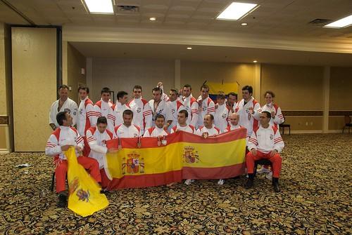 Equipo español en Las Vegas